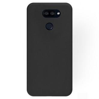 """Juodas silikoninis dėklas LG K40S telefonui """"Rubber TPU"""""""