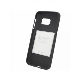 """Juodas silikoninis dėklas Samsung Galaxy G930 S7 telefonui """"Mercury Soft Feeling"""""""