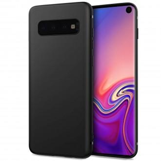 """Juodas silikoninis dėklas Samsung Galaxy G9673 S10 telefonui """"Spigen TPU Case"""""""