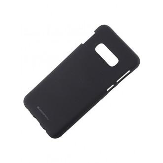 """Juodas silikoninis dėklas Samsung Galaxy G970 S10e telefonui """"Mercury Soft Feeling"""""""
