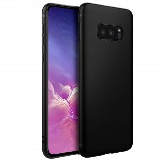 """Juodas silikoninis dėklas Samsung Galaxy G970 S10e telefonui """"Spigen TPU Case"""""""