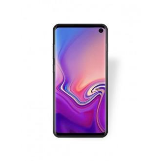 """Juodas silikoninis dėklas Samsung Galaxy G973 S10 telefonui """"Rubber TPU"""""""