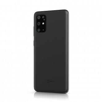 """Juodas silikoninis dėklas Samsung Galaxy G986 S20 Plus telefonui """"BeHello Liquid Silicone"""""""