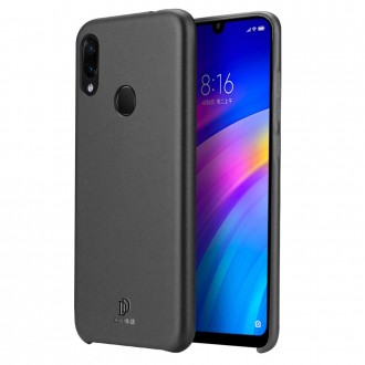 """Juodas silikoninis dėklas Xiaomi Redmi 7 telefonui Dux Ducis """"Skin Lite"""""""