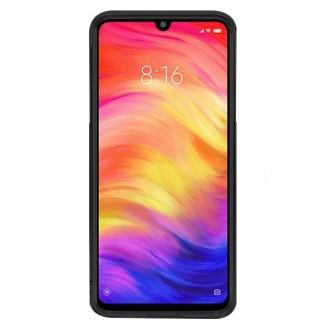 """Juodas silikoninis dėklas Xiaomi Redmi Note 7 / Note 7 Pro telefonui """"Prism"""""""