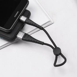 Juodas USB kabelis Borofone BX32 Type-C 0.25m