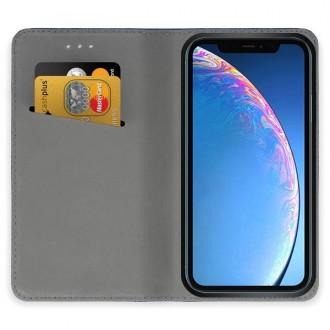"""Juodos spalvos atverčiamas dėklas Apple iPhone 11 telefonui """"Smart Magnet"""""""