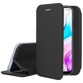 """Juodos spalvos atverčiamas dėklas Xiaomi Mi Note 10 / Mi Note 10 Pro / Mi CC9 Pro telefonui """"Book Elegance"""""""