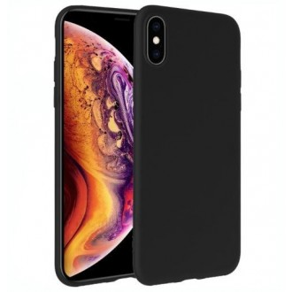 Juodos spalvos dėklas X-Level Dynamic Apple iPhone 12 telefonui