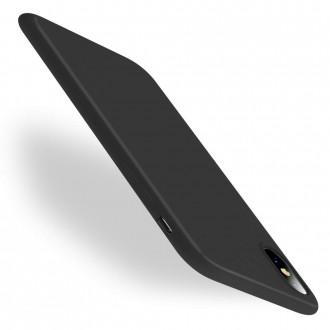 Juodos spalvos dėklas X-Level Thin 0,88mm  Apple iPhone X / XS telefonui