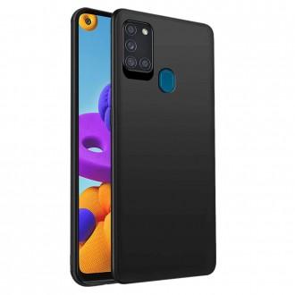 Juodos spalvos dėklas X-Level Dynamic Samsung Galaxy A21S telefonui