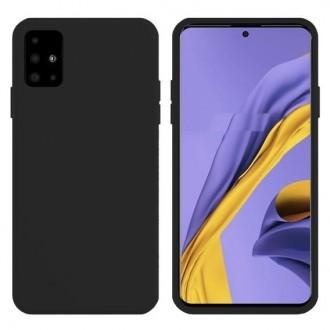 Juodos spalvos dėklas X-Level Dynamic Samsung Galaxy A715 A71 telefonui