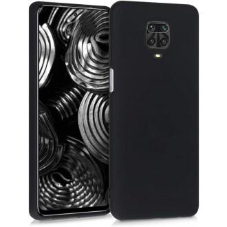 Juodos spalvos dėklas X-Level Dynamic Xiaomi Redmi Note 9s / 9 Pro / 9 Pro Max telefonui