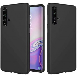 Juodos spalvos dėklas X-Level Guardian Huawei Nova 5T / Honor 20 telefonui