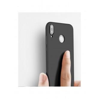 Juodos spalvos dėklas X-Level Guardian Huawei P20 Lite telefonui
