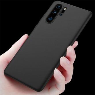 Juodos spalvos dėklas X-Level Guardian Huawei P30 Pro telefonui