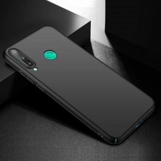 Juodos spalvos dėklas X-Level Guardian Huawei P40 Lite E / / Y7 P telefonui