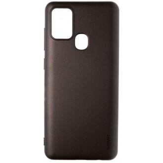 Juodos spalvos dėklas X-Level Guardian Samsung Galaxy A217 A21s telefonui