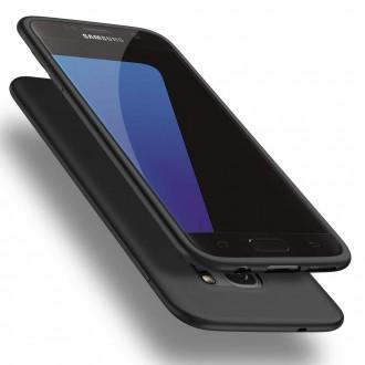 Juodos spalvos dėklas X-Level Guardian Samsung Galaxy G930 S7 telefonui
