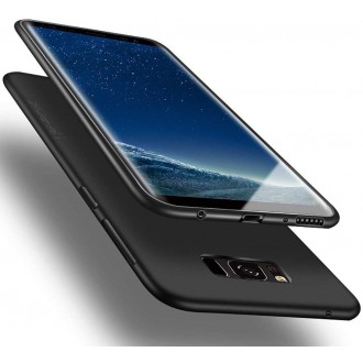 Juodos spalvos dėklas X-Level Guardian Samsung Galaxy G955 S8 Plus telefonui