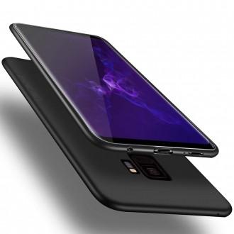 Juodos spalvos dėklas X-Level Guardian Samsung Galaxy G960 S9 telefonui