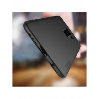Juodos spalvos dėklas X-Level Guardian Samsung Galaxy G965 S9 Plus telefonui