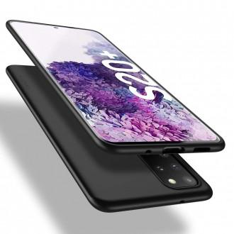 Juodos spalvos dėklas X-Level Guardian Samsung Galaxy G986 S20 plus telefonui