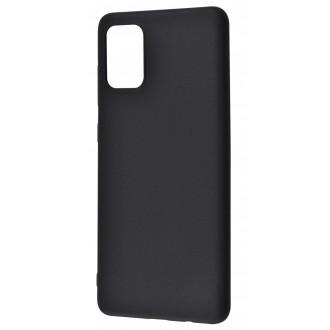 Juodos spalvos dėklas X-Level Guardian Samsung Galaxy Note 10 Lite / A81 telefonui
