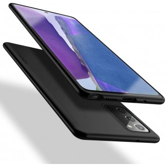 Juodos spalvos dėklas X-Level Guardian Samsung Galaxy Note 20 telefonui