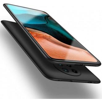 Juodos spalvos dėklas X-Level Guardian Xiaomi Poco F2 Pro / K30 Pro telefonui