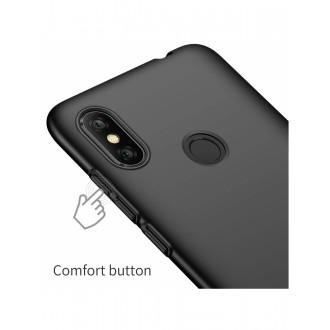 Juodos spalvos dėklas X-Level Guardian Xiaomi Redmi Note 6 / Note 6 Pro telefonui