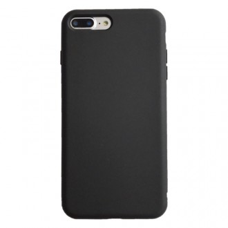 """Juodos spalvos silikoninis dėklas Apple iPhone 12 Pro Max telefonui """"Liquid Silicone"""" 1.5mm"""