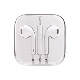 Laisvų rankų įranga Apple iPhone 5G / 5S / 5C / 6 / 6 Plus balta HQ