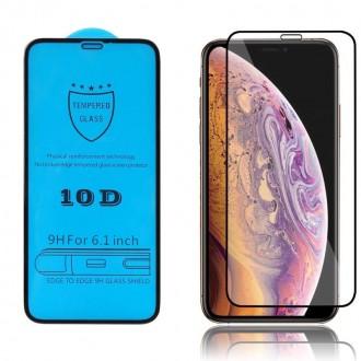 LCD apsauginis stikliukas 10D Full Glue Huawei P Smart 2021