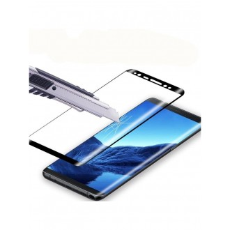 """LCD apsauginis stikliukas """"5D Full Glue"""" Samsung N950 Note 8 lenktas juodas"""