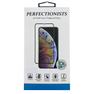 """LCD apsauginis stikliukas """"Perfectionists 5D"""" telefonui Xiaomi Redmi Note 9 (lenktas, juodais krašteliais)"""