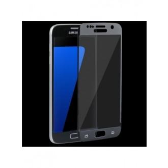 Lenktas juodas 3D apsauginis grūdintas stiklas Samsung Galaxy S7 telefonui