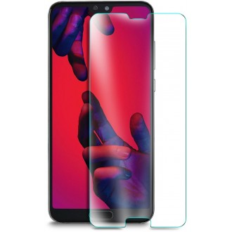 """Lenktas skaidrus apsauginis grūdintas stiklas Huawei P20 telefonui """"M1 5D UV Glue"""""""