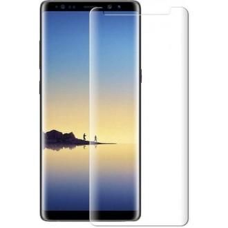 """Lenktas skaidrus apsauginis grūdintas stiklas Samsung Galaxy N960 Note 9 telefonui """"M1 5D UV Glue"""""""