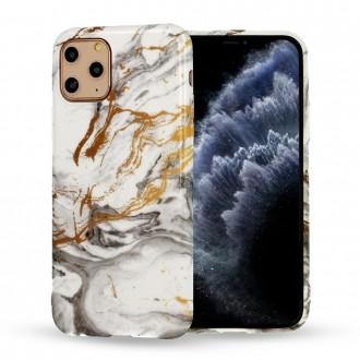 Dėklas Marble Silicone Apple iPhone 12 / 12 Pro telefonui (Design 2)