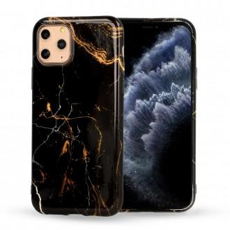 Dėklas Marble Silicone Apple iPhone 12 Pro Max telefonui (Design 4)