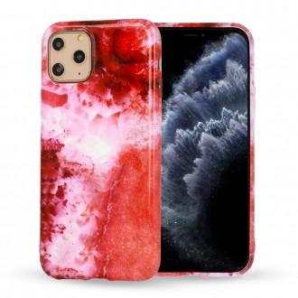 Dėklas Marble Silicone Apple iPhone 12 / 12 Pro telefonui (Design 5)