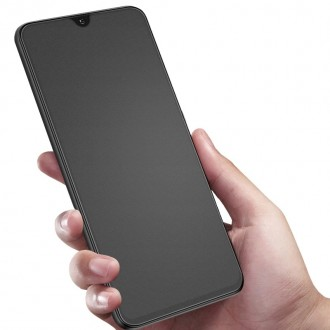 LCD apsauginis stikliukas Apple iPhone 12 / 12 Pro juodais krašteliais, matinis