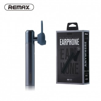 Mėlyna belaidė laisvų rankų įranga Remax RB-T17 Bluetooth