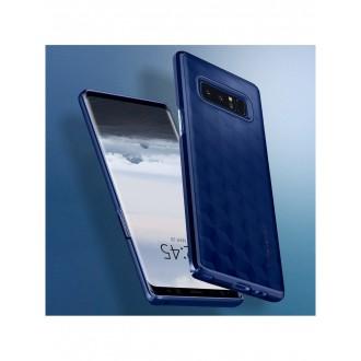 "Mėlynas dėklas Samsung Galaxy Note 8 telefonui ""Spigen Thin Fit"""