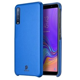 "Mėlynas silikoninis dėklas Samsung Galaxy A750 A7 2018 telefonui Dux Ducis ""Skin Lite"""