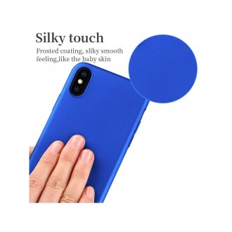 Mėlynas silikoninis dėklas ,,X-Level Guardian,, iPhone apple X / XS telefonui