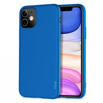 Mėlynos spalvos dėklas X-Level Guardian Apple iPhone 11 telefonui