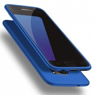 Mėlynos spalvos dėklas X-Level Guardian Samsung Galaxy G930 S7 telefonui