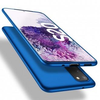 Mėlynos spalvos dėklas X-Level Guardian Samsung Galaxy G981 S20 telefonui